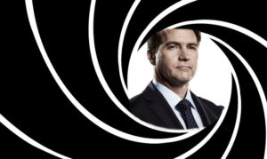 Bitcoin SV Promoter Craig Wright on a 007 Poster