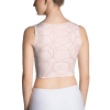 etheric life pink full moon collection crop top back