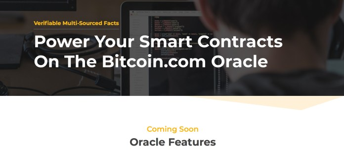Bitcoin.com's Oracle Aims to Bolster BCH-Powered Smart Contracts