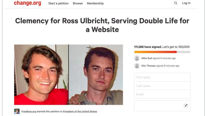 A Heartbroken Mother Hopes President Trump Will Exonerate Ross Ulbricht