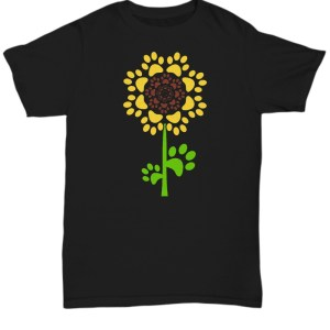Sunflower Dog shirt