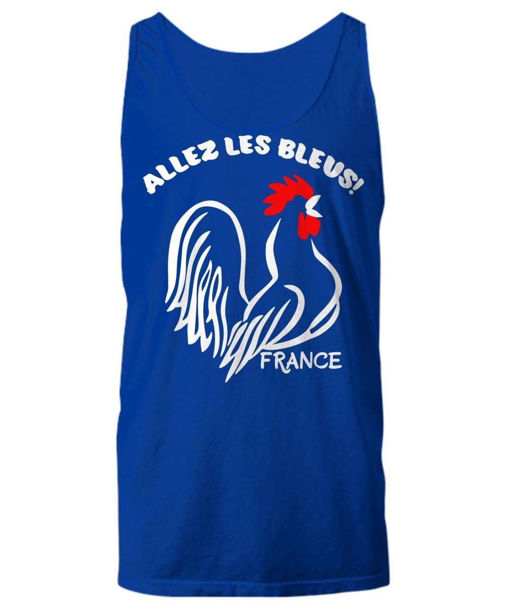 France Allez Les Bleus Tank top