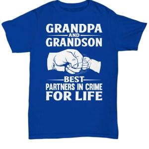 Grandpa and grandson best partner in crime Shirt