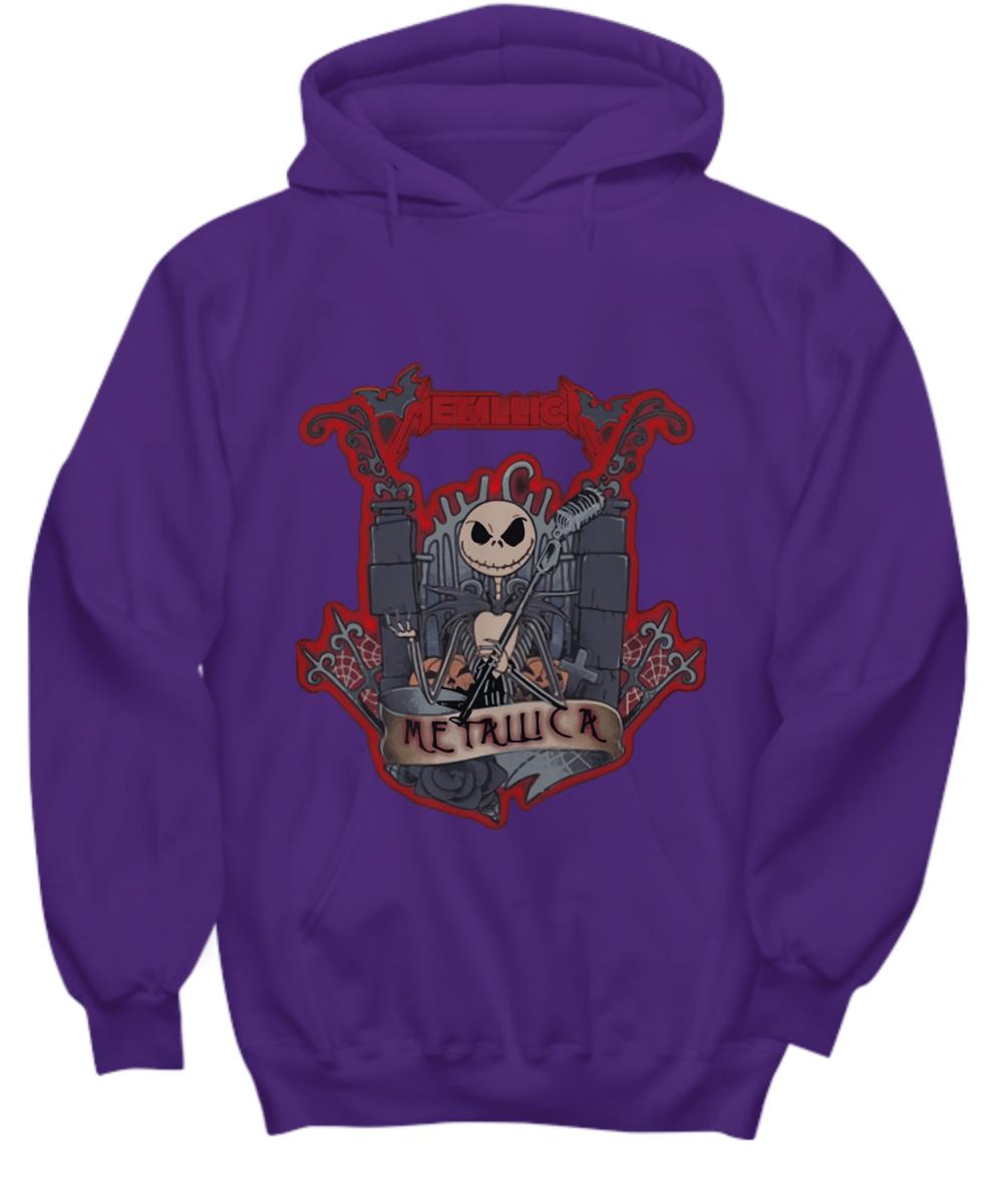 Metallica skeleton band halloween Hoodie