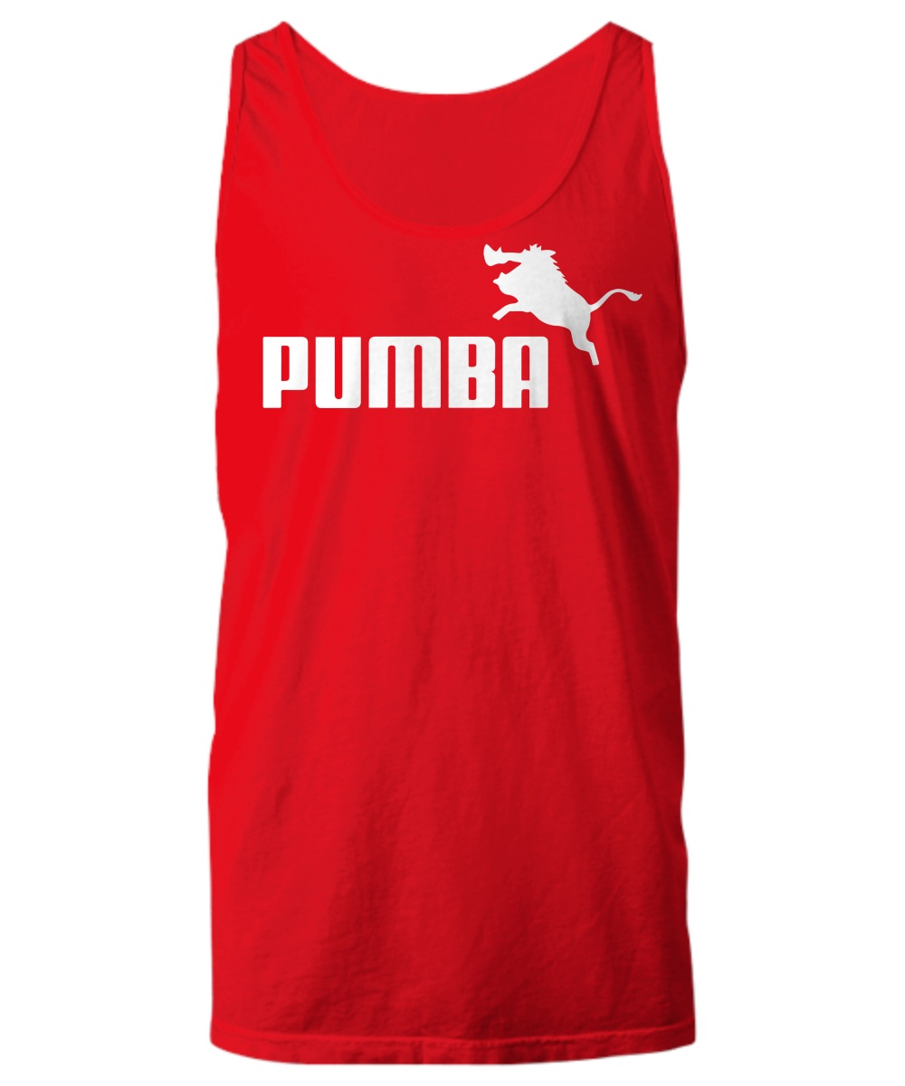 Parody pumba and timon simba tank top