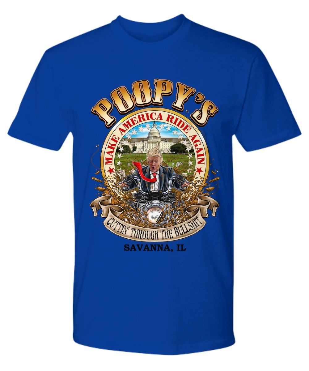 Trump make america ride again premium shirt
