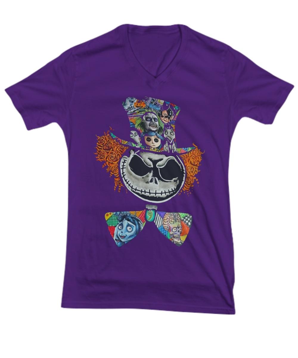 Jack the killer cartoon clown V-Neck