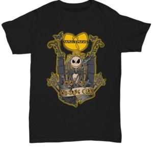 Wu tang clan skeleton band halloween Shirt
