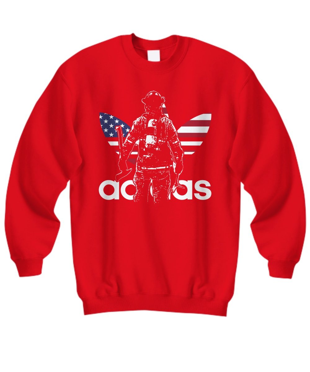 Adidas firefighter sweatshirt