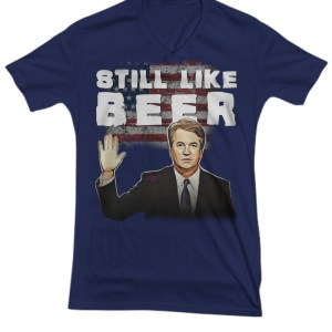 Brett Kavanaugh still like beer V-Neck