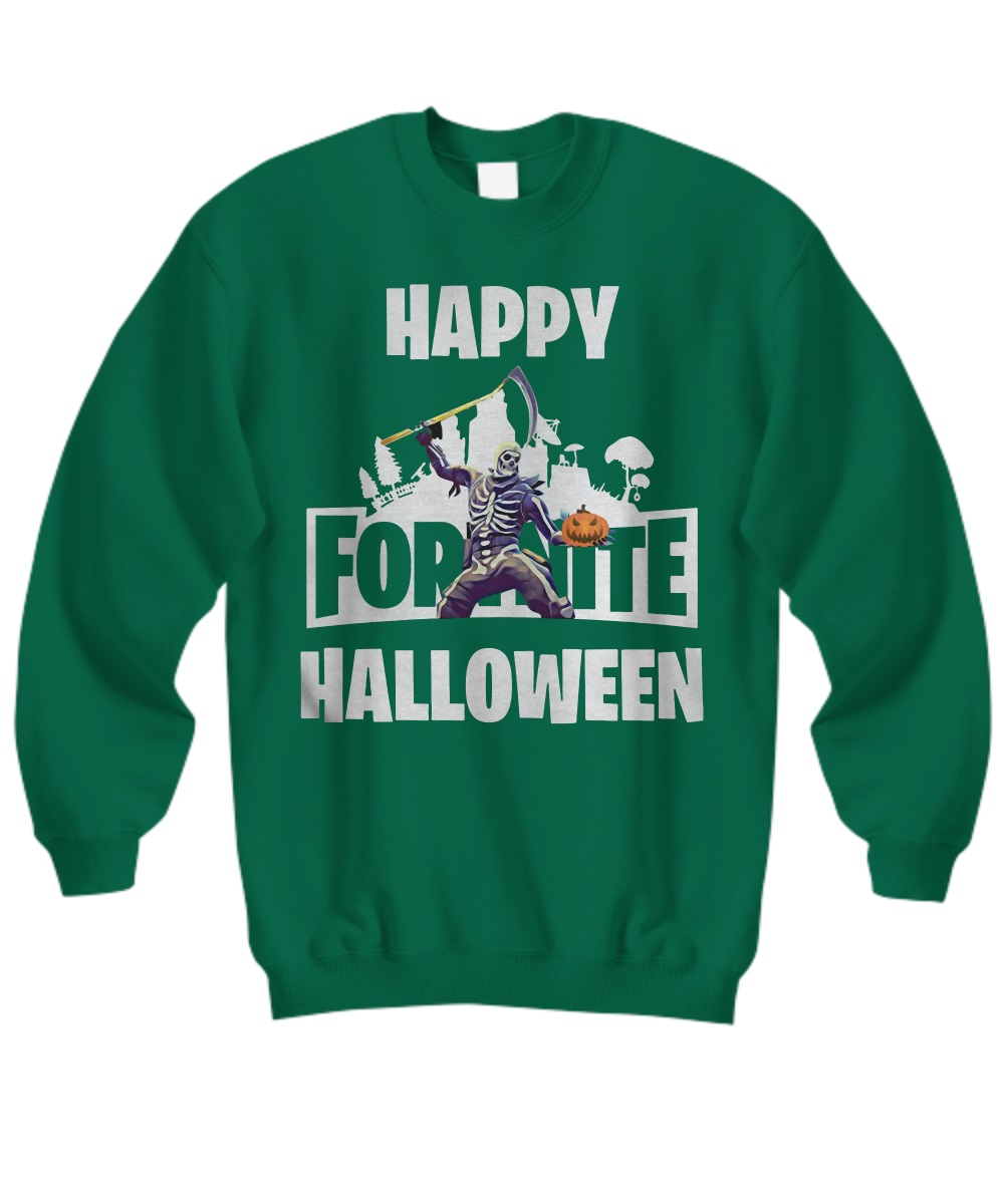 Fortnite happy halloween skull trooper sweatshirt