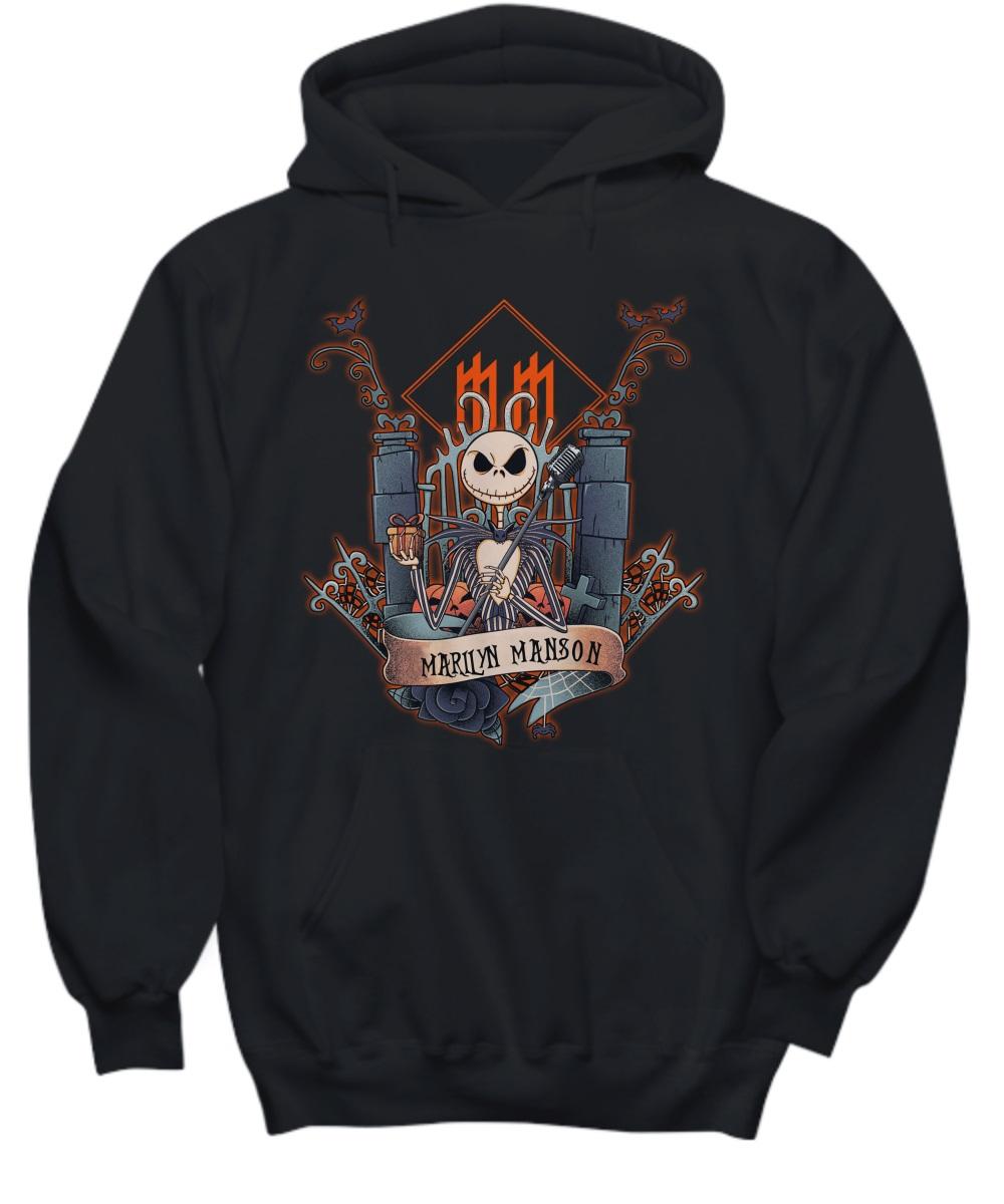 Jack skellington marilyn manson hoodie