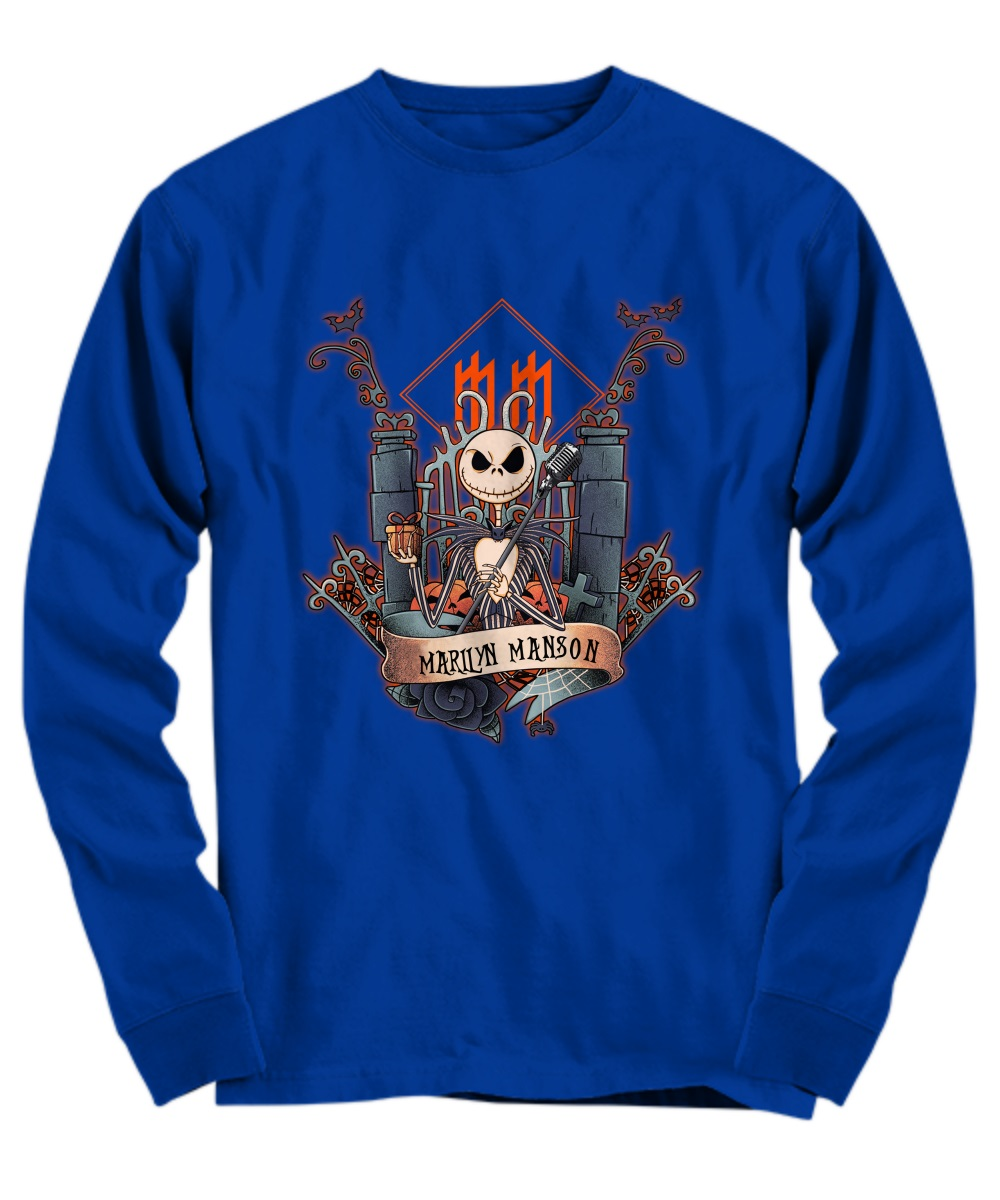 Jack skellington marilyn manson long sleeve