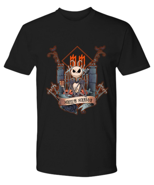 Jack skellington marilyn manson shirt