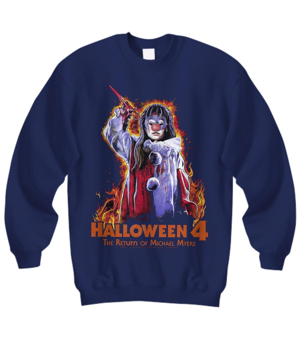 Jamie Lloyd Halloween 4 the Return of Michael Myers Sweatshirt
