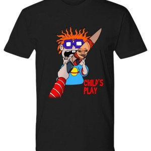 Rugrats scares Chuckie Child's play shirt