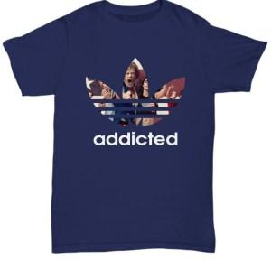 Shameless addicted Adidas Shirt