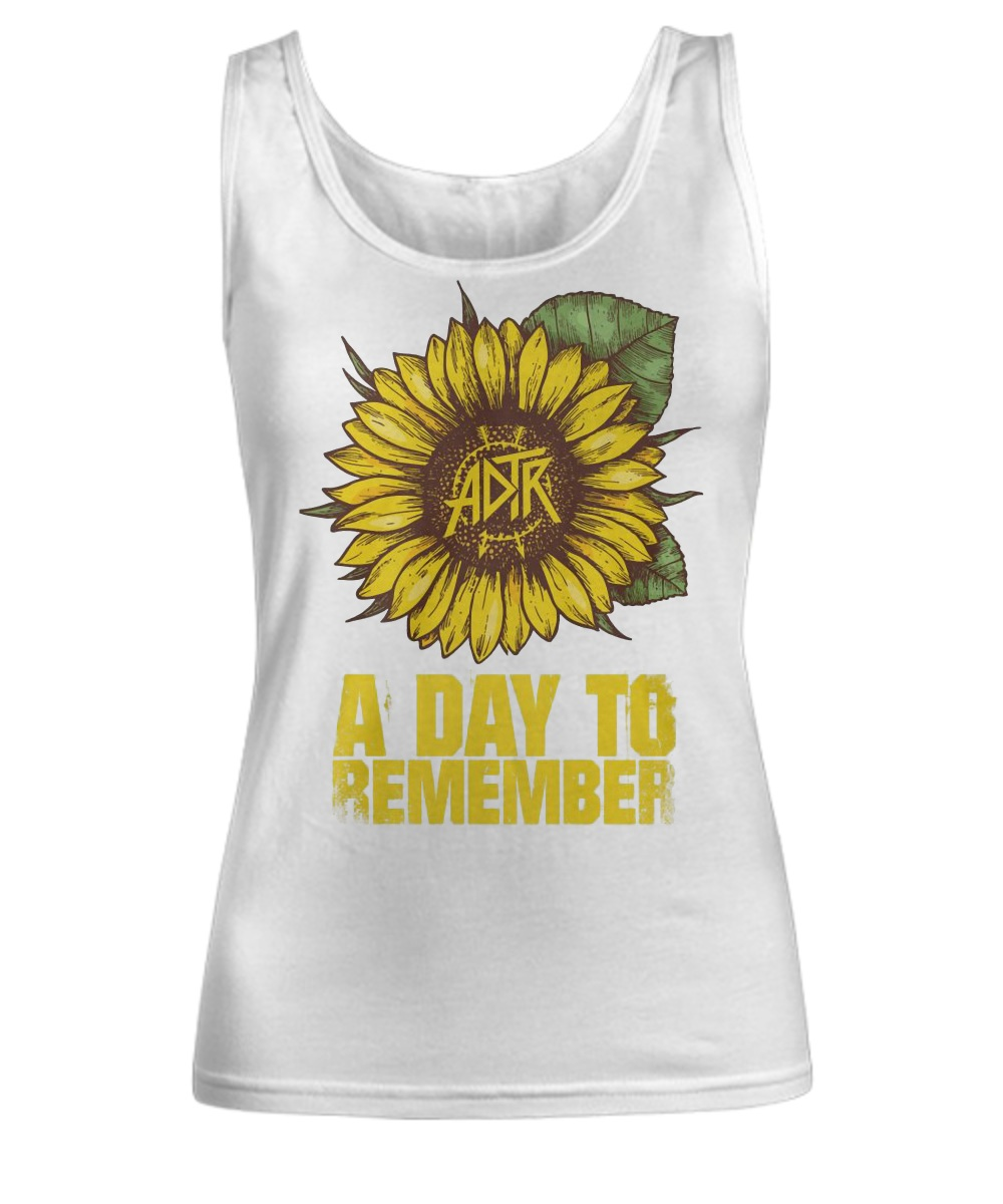 Sunflower a day to remember Tank top