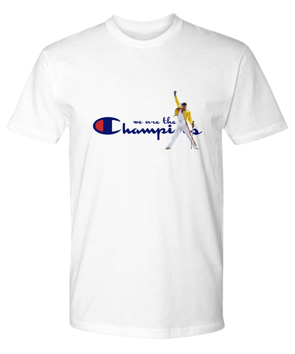 taille 40 2cd7e adecc Freddie Mercury we are the champions shirt, hoodie ...