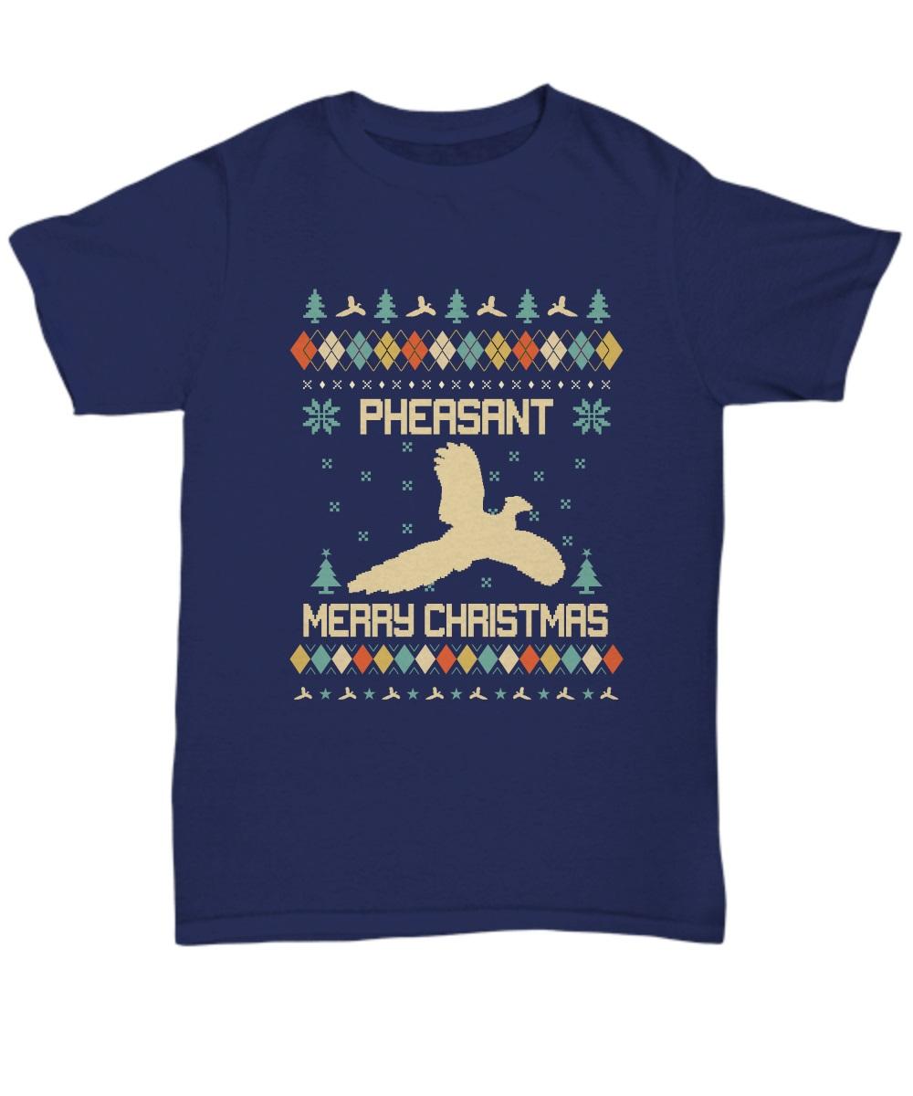 Pheasant merry Christmas classic shirt