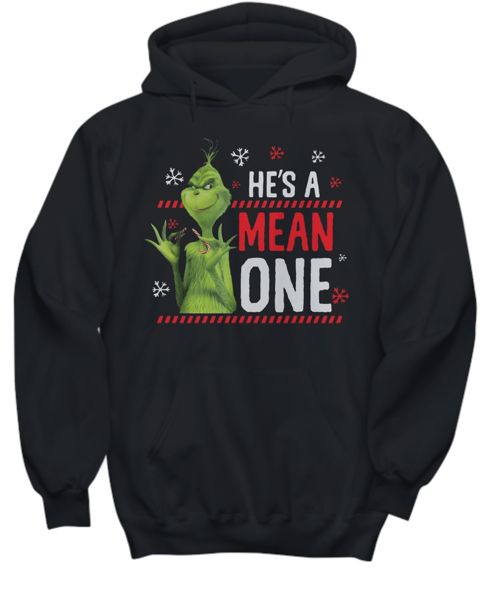 The Grinch He's a mean one hoodie