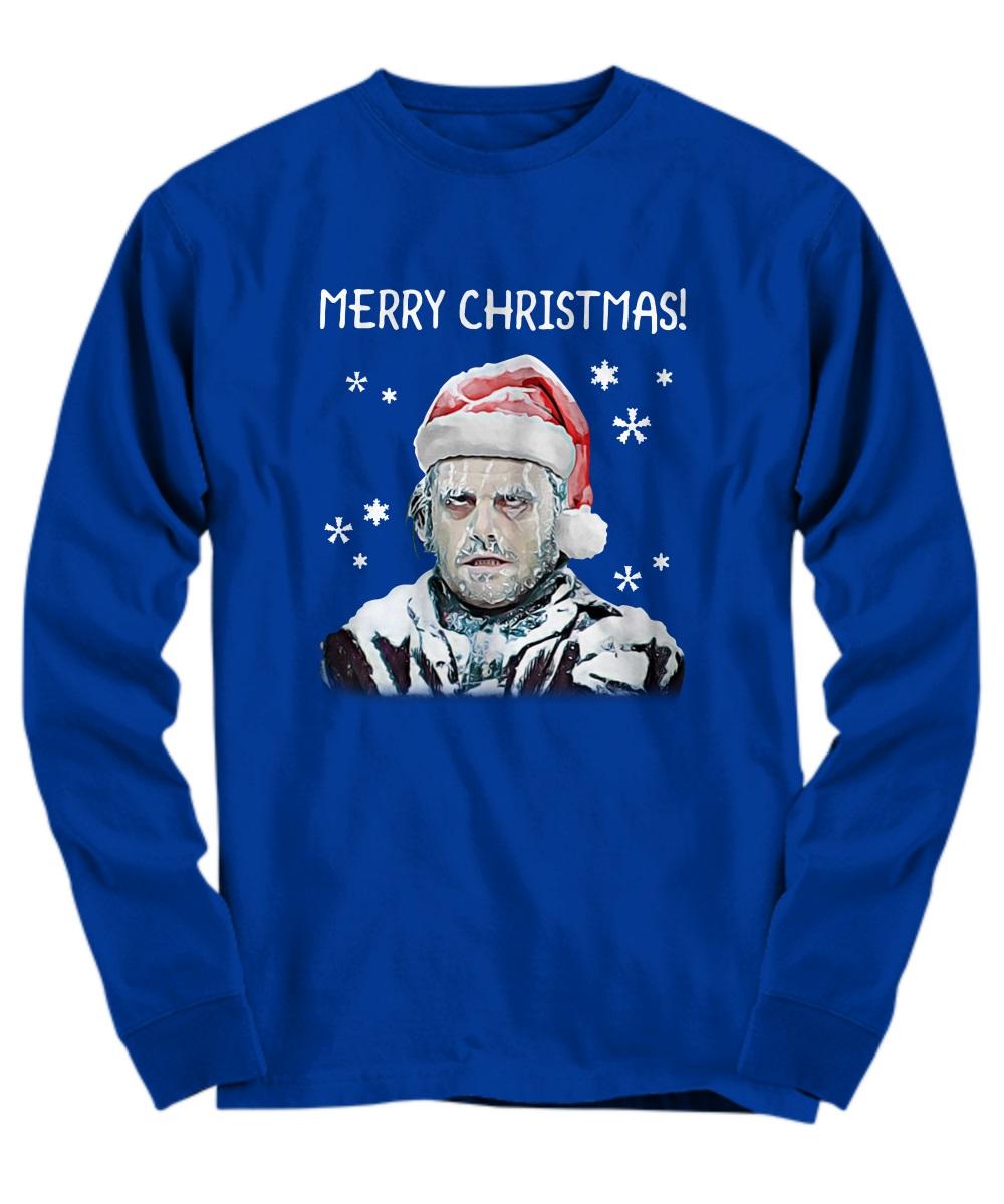 The Shining alternative ending Merry Christmas long sleeve