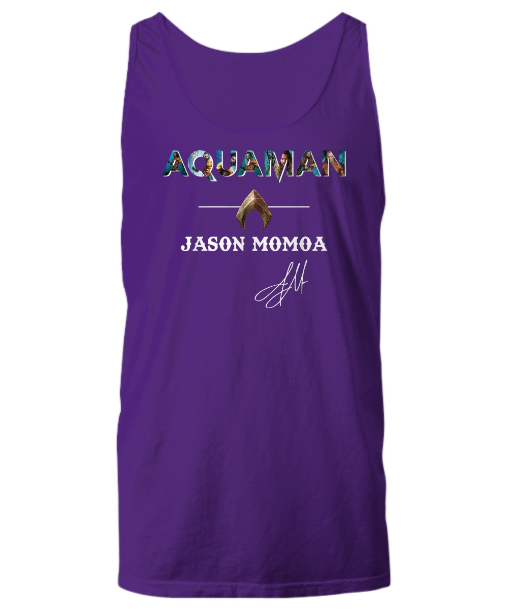 Aquaman Jason Momoa signature tank top