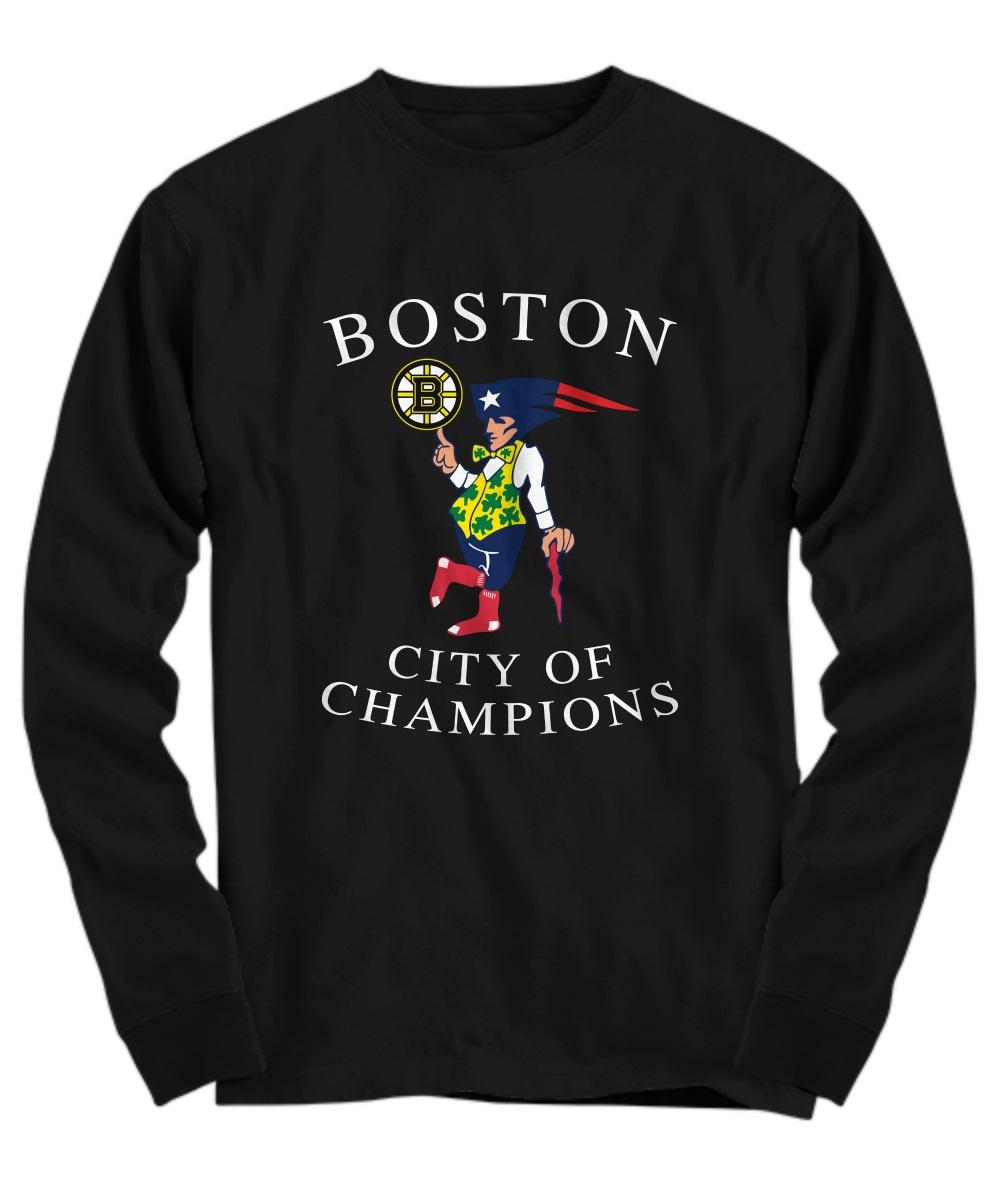 Boston Sports Teams Citizen long sleeve