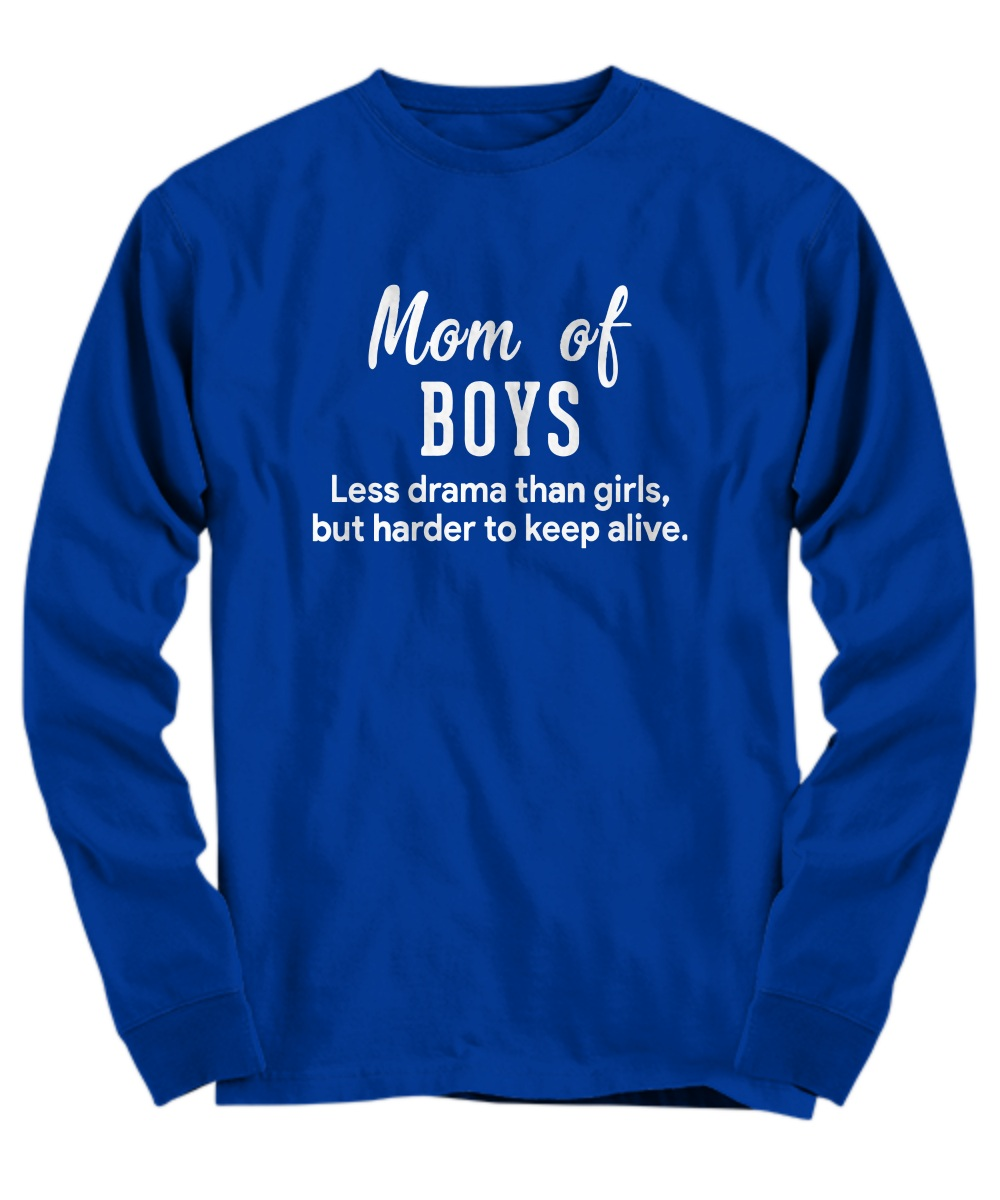 Mom of Boys less drama than girls but harder to keep alive