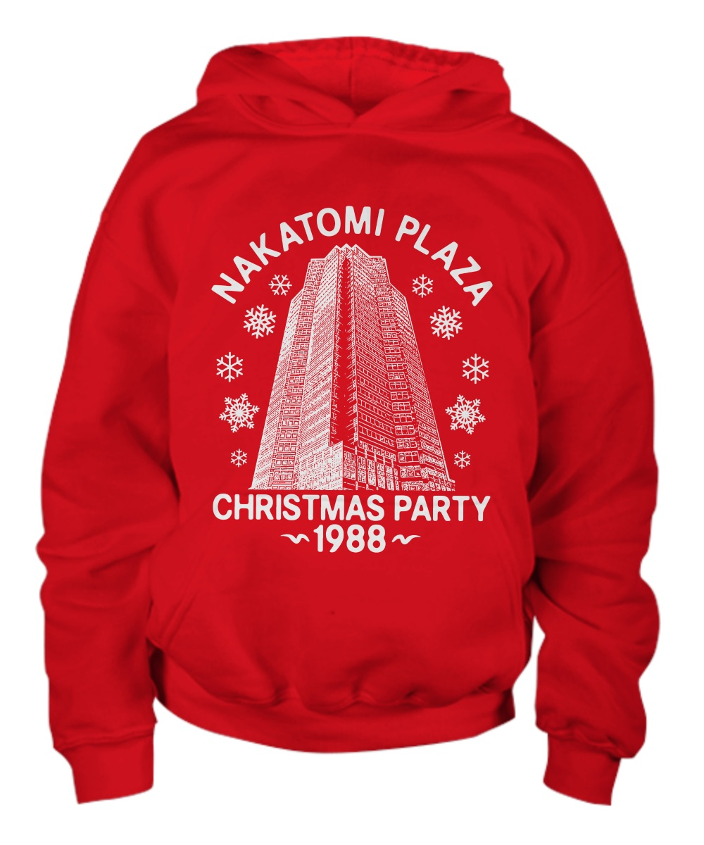 Nakatomi plaza christmas party 1988 hoodie