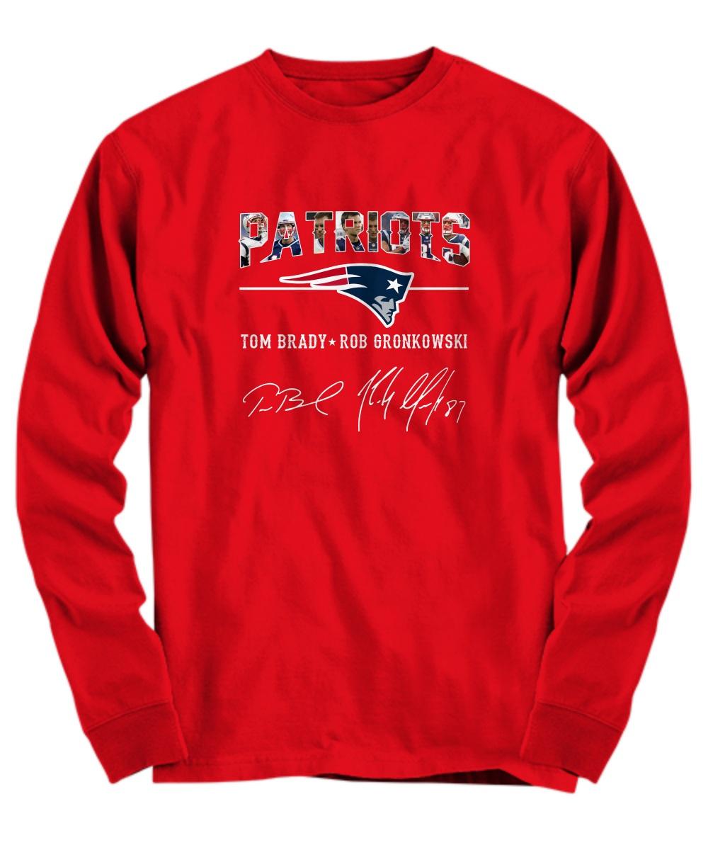 Patriots Tom Brady Rob Gronkowski long sleeve