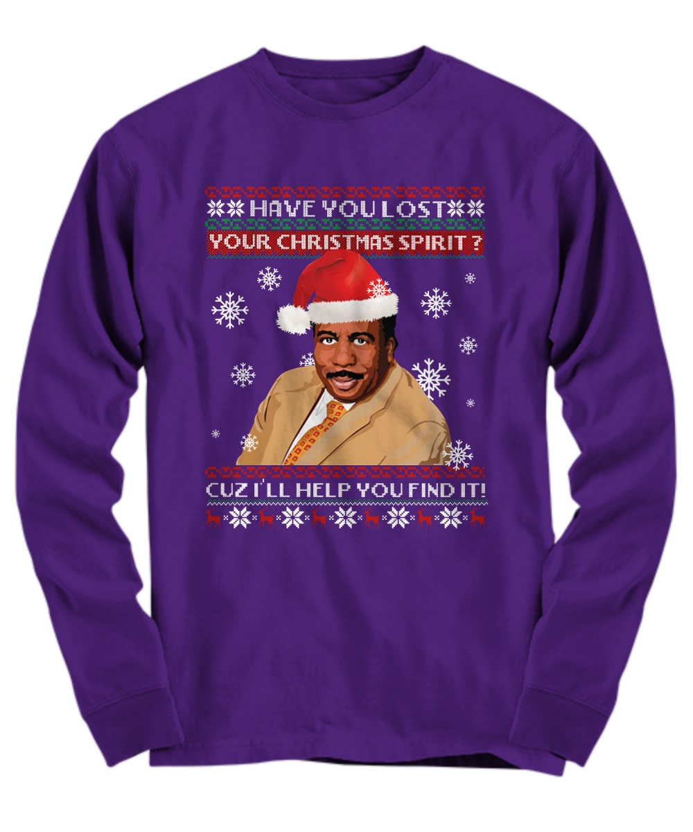 Steve Harvey Have you lost your Christmas spirit cuz I'll help you find it long sleeve