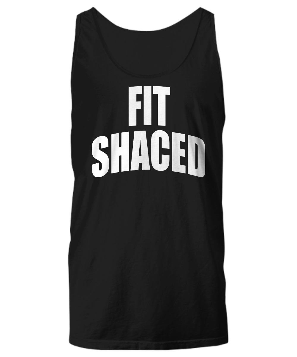 Fit shaced Lady funny tank top