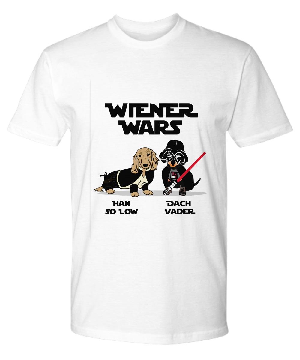 Wiener Wars han so low Dach Vader classic shirt