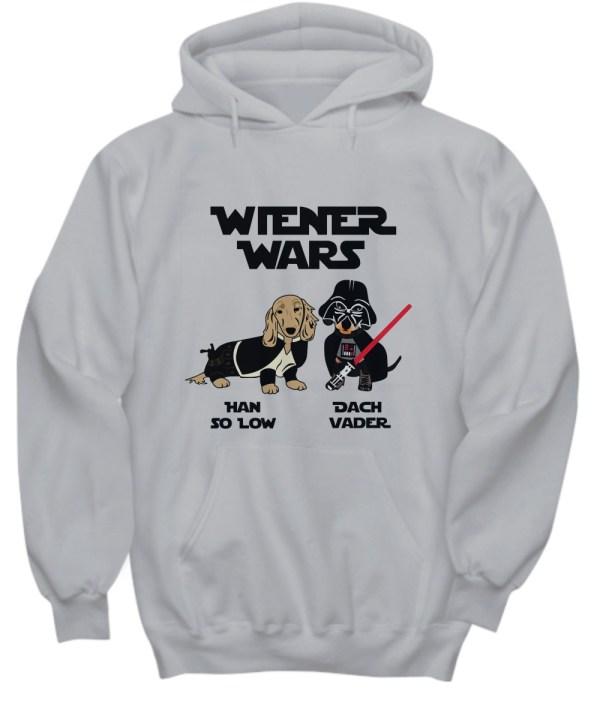 Wiener Wars han so low Dach Vader hoodie