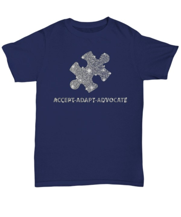 Accept adapt advocate shirt