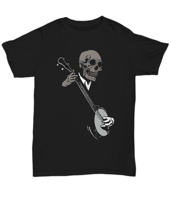 Skullboys' Banjo Blues shirt