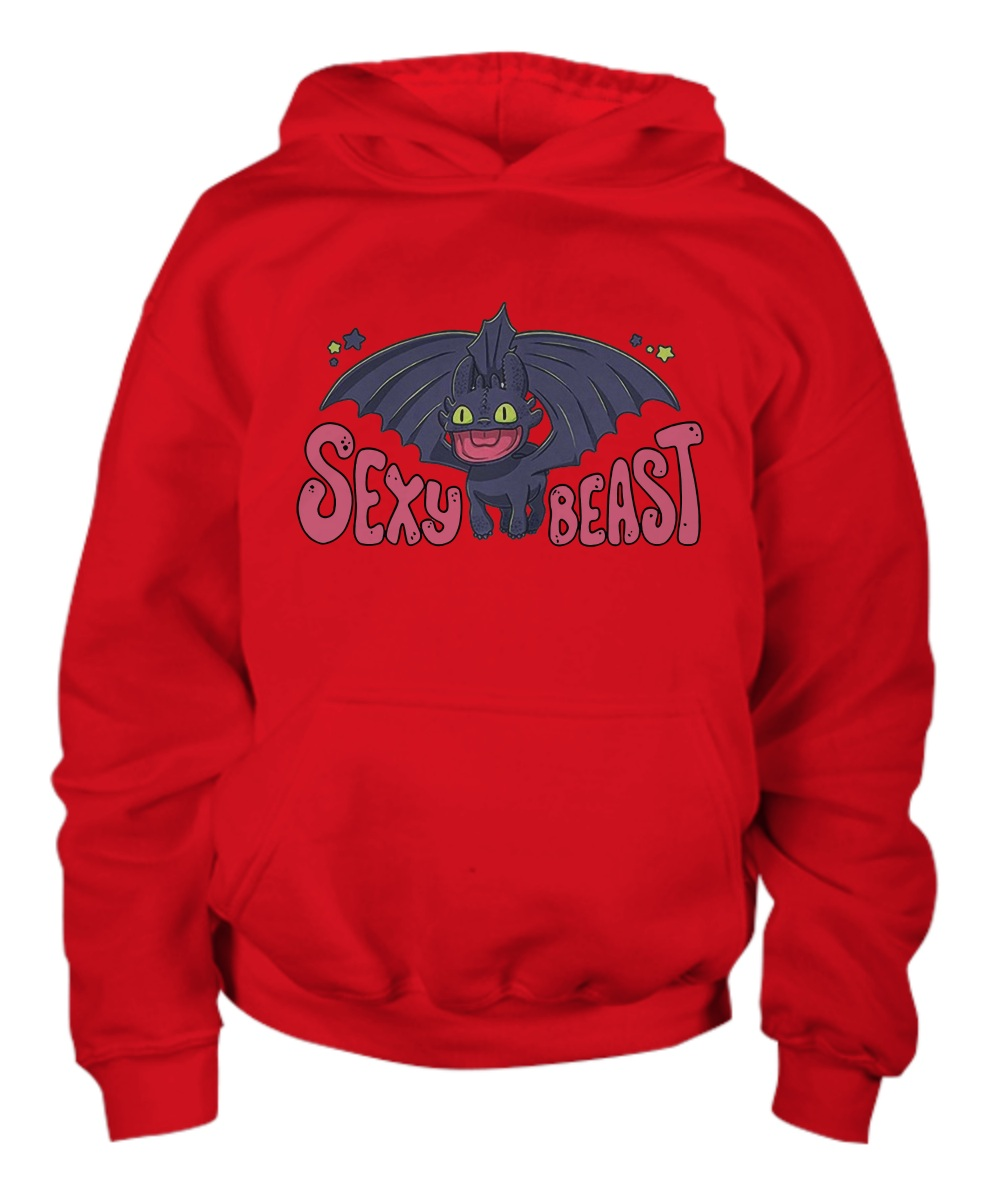 Toothless sexy beast hoodie
