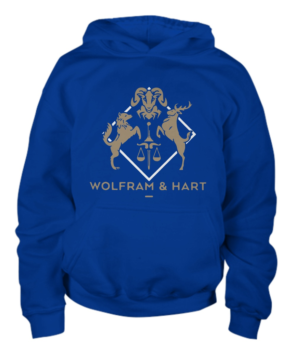 Wolfram and Hart Attorneys at law hoodie