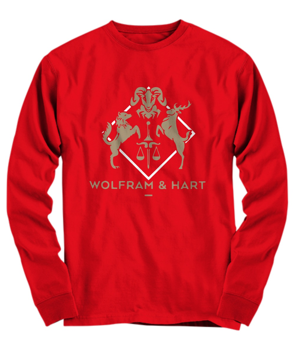 Wolfram and Hart Attorneys at law long sleeve