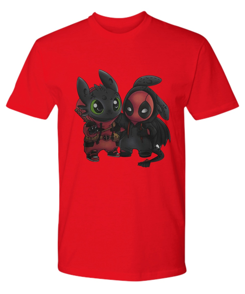 Baby deadpool and toothless Premium Tee