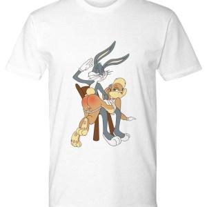 Bugs Bunny spanking Lola Premium Tee