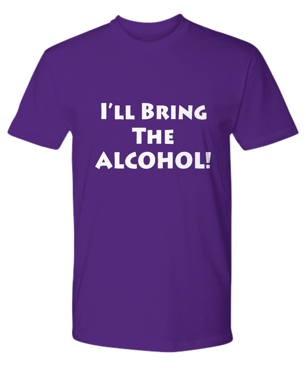 Couple BFF- I'll Bring the Alcohol I'll bring the Bad Decisions Premium tee