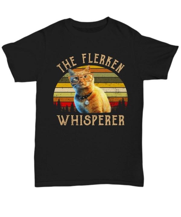 Goose cat the flerken whisperer vintage shirt