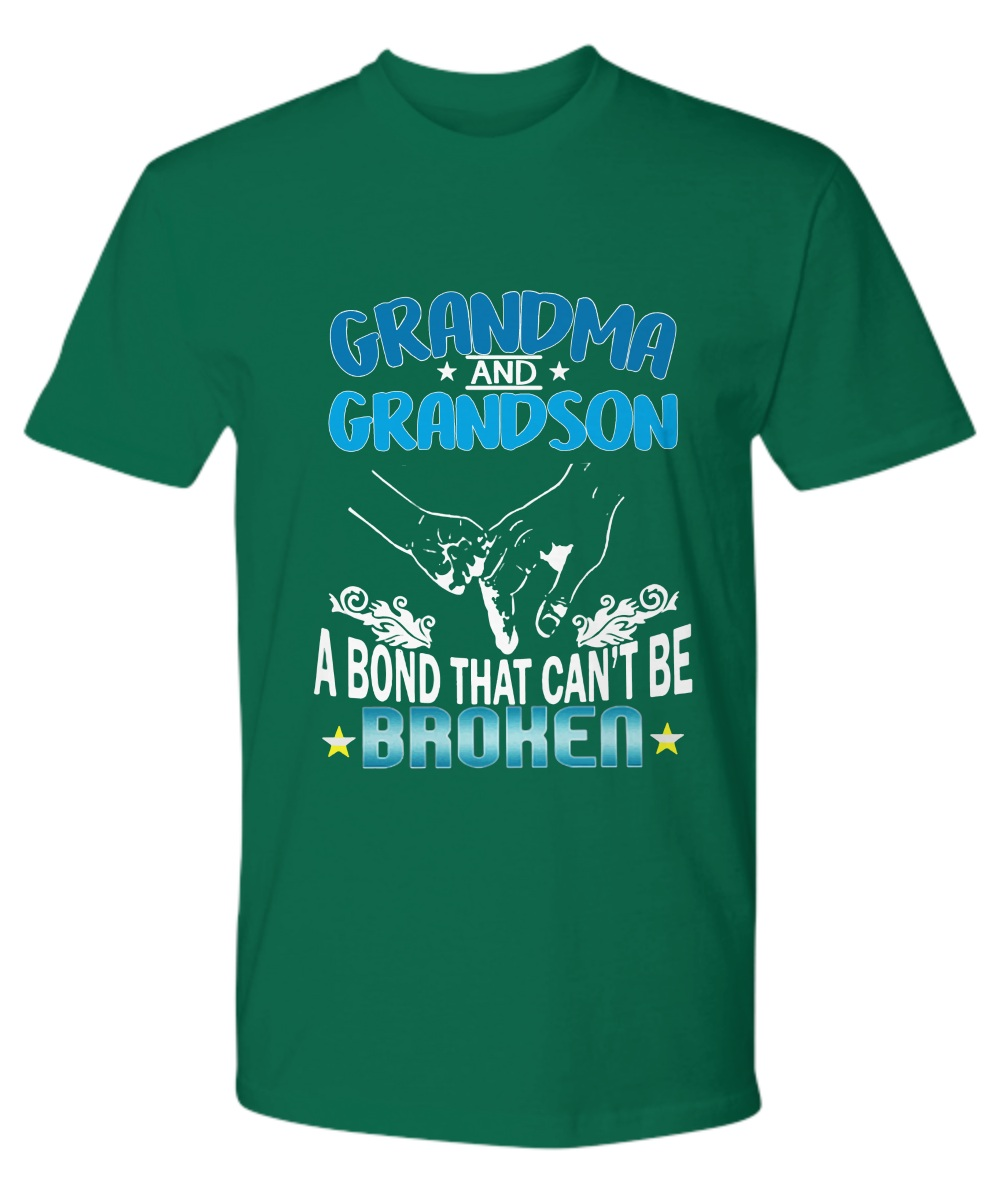 Grandma and Grandson a bond that can't be broken premium tee
