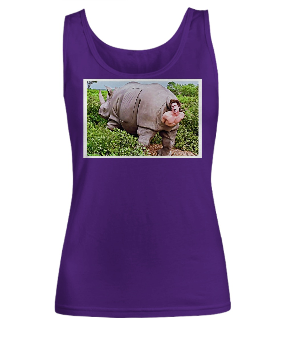 Ace Ventura Rhino Scene Poster Tank top