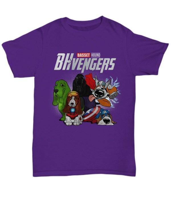 Basset hound avengers shirt