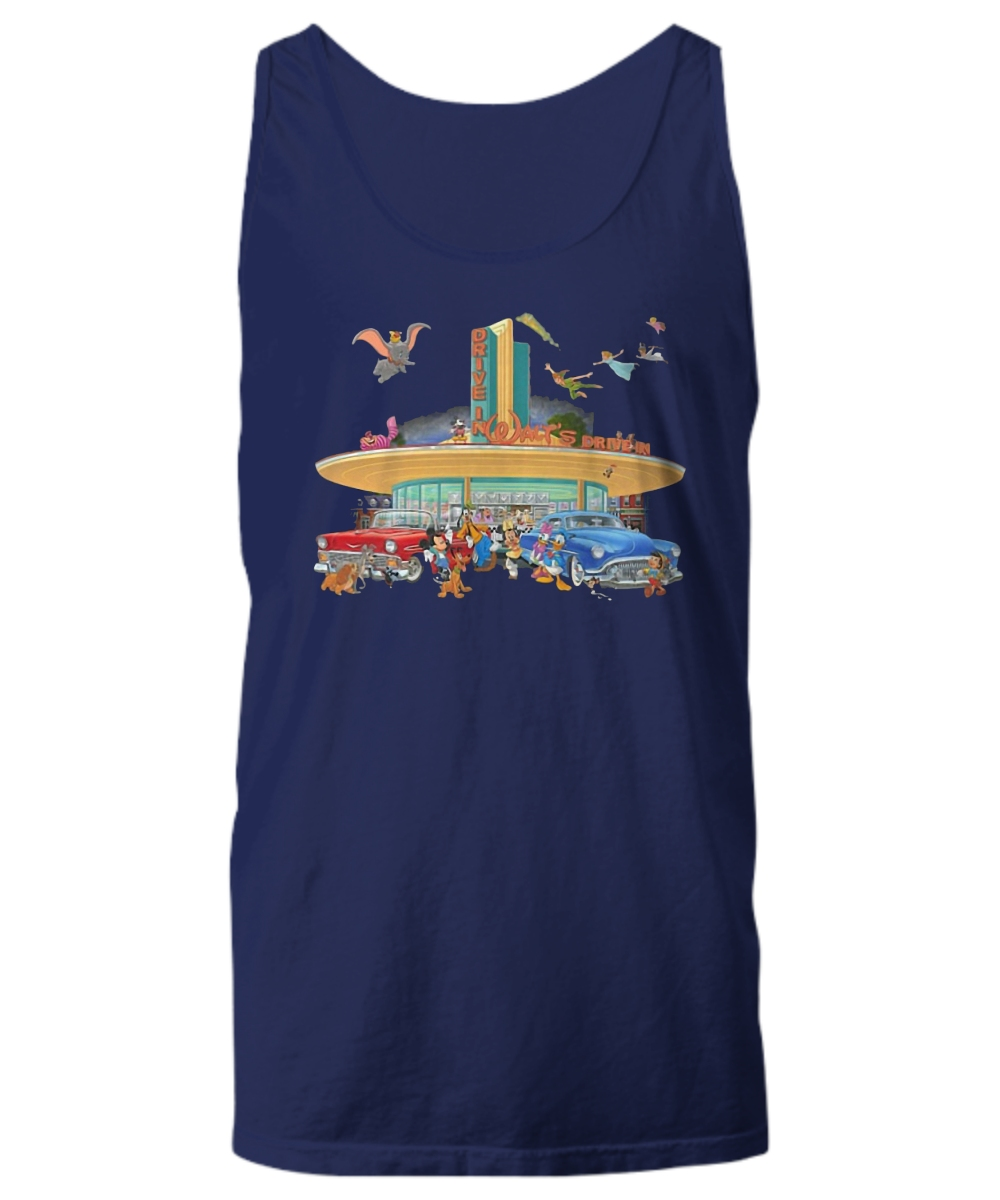 Disney drive in walt's Unisex Tank Top