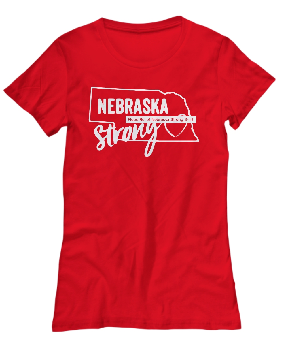 Nebraska Strong Nebraska Strong Flooding Women's Tee