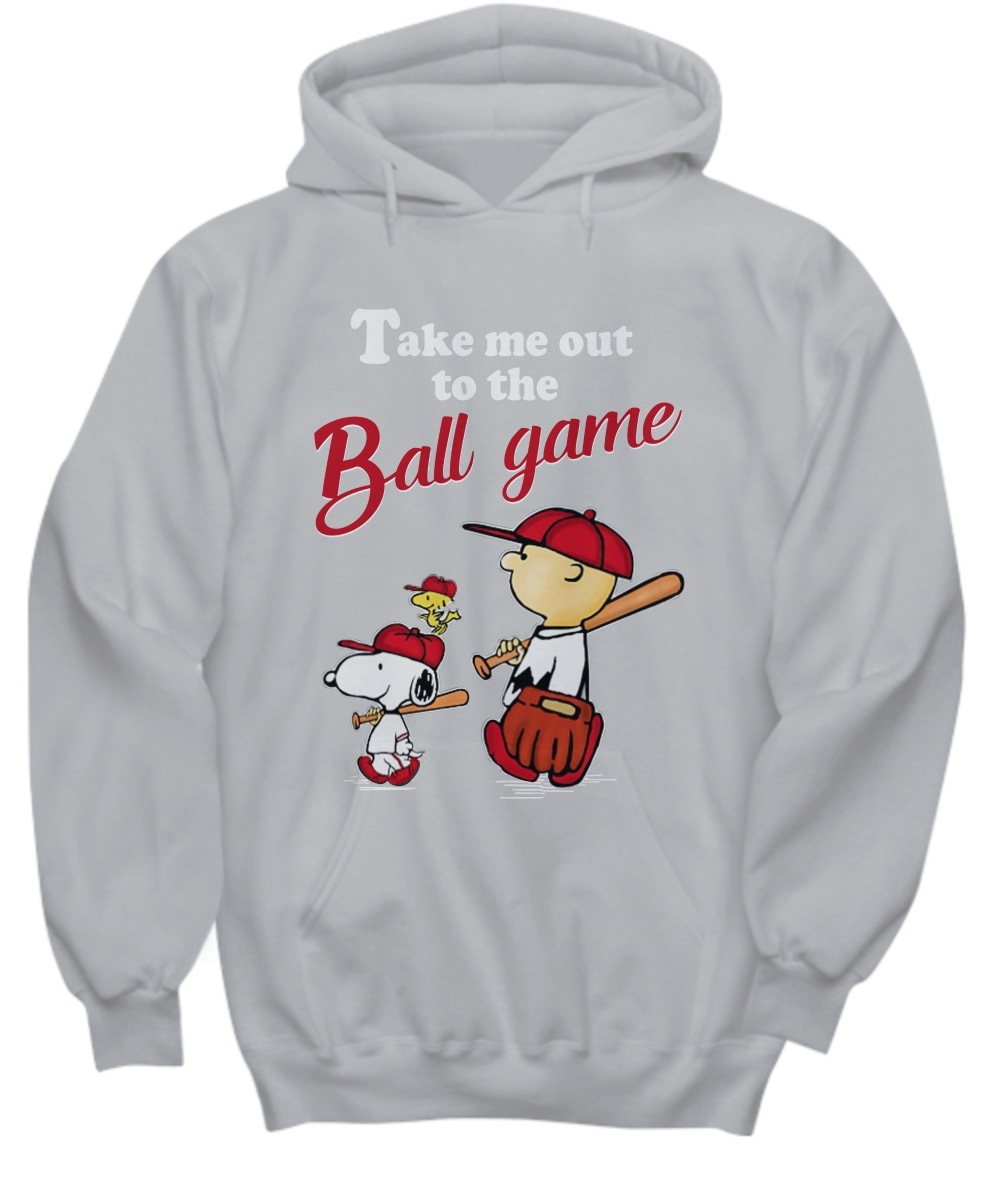 Snoopy take me out to the ball game Hoodie